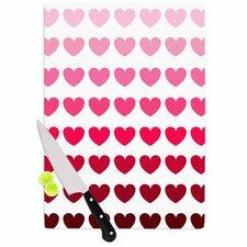 Hearts Cutting Board