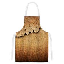 Natural Wood Artistic Apron