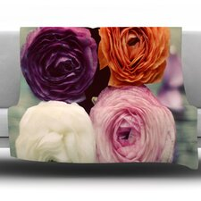 Four Kinds of Beauty by Cristina Mitchell Fleece Throw Blanket