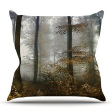 Forest Mystics Throw Pillow