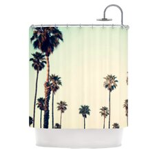 California Polyester Shower Curtain