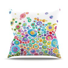 Inner Circle Throw Pillow