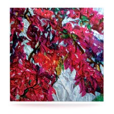 Bougainvillea by Mary Bateman Graphic Art Plaque