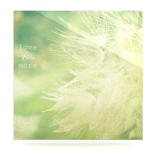 Love You More by Robin Dickinson Photographic Print Plaque