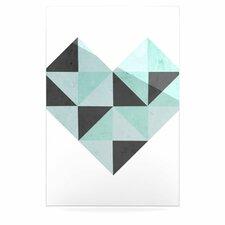 Geo Heart by Skye Zambrana Graphic Art Plaque