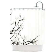 Winter Polyester Shower Curtain