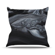 Troubled Joe by Graham Curran Throw Pillow
