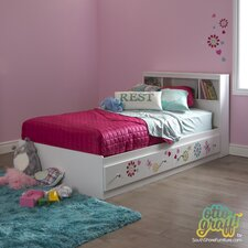 Joy Twin Mate's Bed Box with Storage
