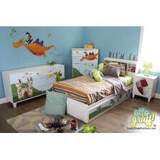 Andy Twin Storage Mate's Customizable Bedroom Set