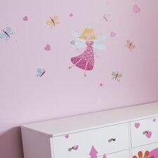 Joy Fairy and Butterflies Ottograff Wall Decal