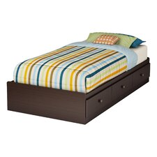 Zach Twin Mate's Bed Box with Storage