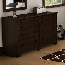 Newton Shaker 6 Drawer Double Dresser