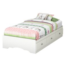 Tiara Twin Kids Mates Bed with Storage