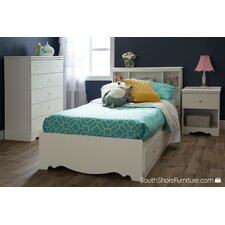 Crystal Twin Mate's Bed Box with Storage