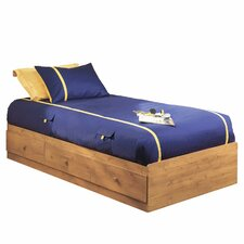 Amesbury Twin Mate's Bed Box with Storage
