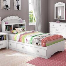 Tiara Twin Kids Mates Bed with Storage
