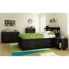 Lazer Full Storage Captain Customizable Bedroom Set