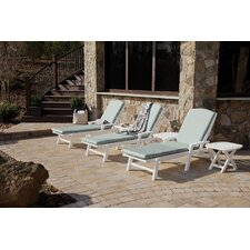 Trex Outdoor Chaise with Cushion