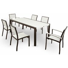 Trex Outdoor Surf City 7 Piece Dining Set
