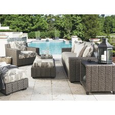 Blue Olive 4 Piece Deep Seating Group