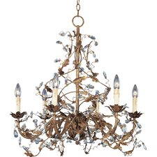 Elegante 6-Light Chandelier