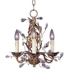 Elegante 3-Light Chandelier