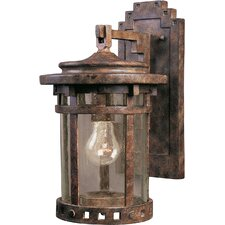 Santa Barbara Cast 1 Light Wall Lantern