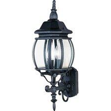 Crown Hill 3 Light Wall Lantern