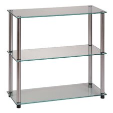 "Classic Glass 26.5"" Accent Shelves"