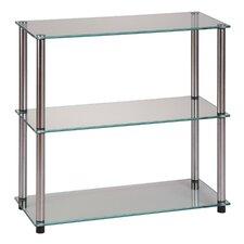 "Classic Glass 26.5"" Accent Shelves"