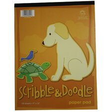 Scribble & Doodle Paper Pad