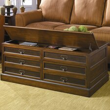 Mercantile Trunk Coffee Table with Lift-Top