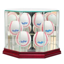 6 Baseball Display Case