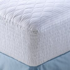 100% Pima Cotton Stripe 5 Zone Mattress Pad