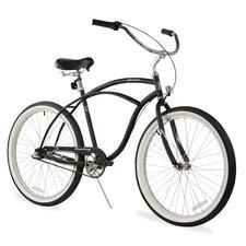 "Men's Firmstrong Urban 26"" Three Speed Beach Cruiser Bicycle"