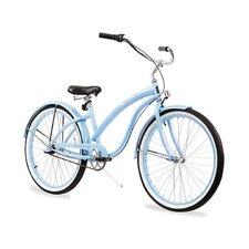 "Women's Firmstrong Bella Classic 26"" Three Speed Beach Cruiser Bicycle"