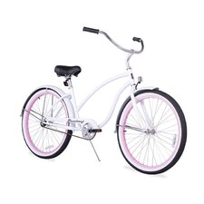 """Women's Firmstrong Chief Lady 26"""" Single Speed Beach Cruiser Bicycle"""