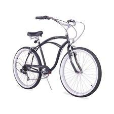 "Men's Firmstrong Urban 26"" Seven Speed Beach Cruiser Bicycle"