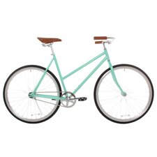 Women's Classic Urban Commuter Single Speed Hybrid Bicycle