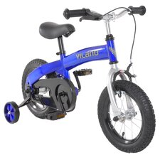 "12"" 2 in 1 Kids Pedal Balance Bike"