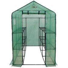 4 Ft. W x 8 Ft. D Plastic Greenhouse