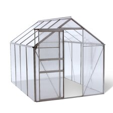 Lawn and Garden 6 Ft. W x 8 Ft. D Plastic Greenhouse