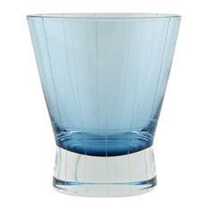 Crete Etched 8 Oz. Double Old Fashioned Glass (Set of 6)