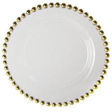 """Belmont Gold 11"""" Dinner Plate"""