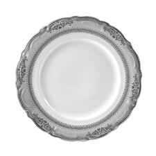 "Vanessa Platinum 10.5"" Dinner Plate (Set of 6)"