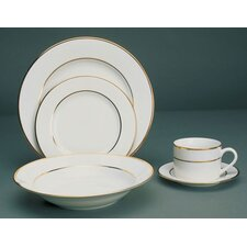 Gold Double Line Dinnerware Collection