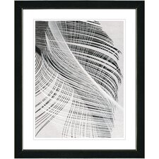Feather Dance III by Zhee Singer Framed Graphic Art