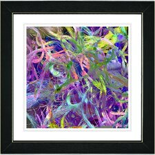 """""""Tangle"""" by Zhee Singer Framed Fine Art Giclee Painting Print"""