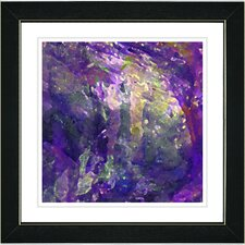 """Rushing Poem"" by Zhee Singer Framed Fine Art Giclee Painting Print"