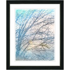 """Winter Sun"" by Zhee Singer Framed Fine Art Giclee Painting Print"